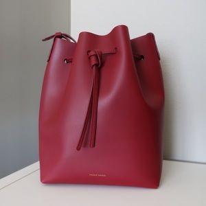 Mansur Gavriel Rococo Bucket Bag (Regular Size)